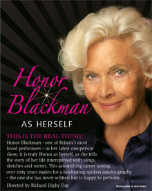 Honor Blackman As Herself